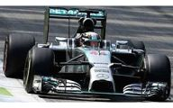 1/43 Mercedes F1 W05 Winner Italian GP 2014 Lewis Hamilton #44 [S3141]