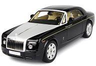 1/18 Rolls-Royce Phantom Coupe (ブラックメタリック/Diamond Black) [K08861DBK]