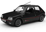 1/43 プジョー 205 GTI 1.9 1FM ブラック [VA12706A]