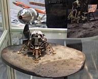 模型 1/72 NASA アポロ11号 CSM(司令官/機械船)&月着陸船 w/月面ベース [DRW50381]