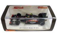 1/43 HRT F1-10 Monaco GP 2010 COSWORTH #21(メタリックグレー×レッド) [S3003]