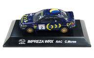1/64 IMPREZA WRX RAC C.Mcrae #2(ブルー) 「ラリーカーコレクション SS.1 スバル」