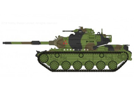"1/72 M60A3 パットン ""台湾陸軍 2017"" [HG5609]"