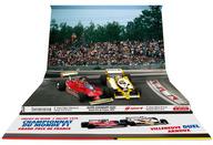 1/43 フェラーリ 312 T4 G. Villeneuve ステアリング #12 + ルノー RS12 R. Arnoux 1979年フランスGP #16 [AS58B]