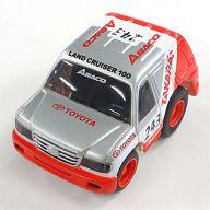 チョロQ トヨタ・チームARACO ランドクルーザー 100(レッド×シルバー) 2003年のパリ・ダカール・ラリー優勝記念