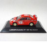 1/64 LANCER Evolution VI 1999 New Zealand #1(レッド) 「ラリーカーコレクション SS.2 三菱」