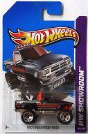 1/64 1987 TOYOTA PICKUP TRUCK(ブラック) 「Hot Wheels HW SHOWROOM」 [X1829-07A3]