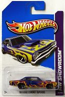 1/64 '69 DODGE CORONET SUPERBEE(ブルー×イエロー) 「Hot Wheels HW SHOWROOM」 [X1793-07A3]