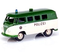 "1/87 VW T1 バス""Polizei""ホワイト/グリーン [PCS06553]"