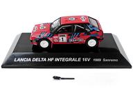 1/64 LANCIA DELTA HF INTEGRALE 16V 1989 Sanremo MICHELIN #1(レッド) 「ラリーカーコレクション SS.5 ランチア」