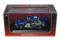 1/64 SUBARU NEW AGE IMPREZA WRC 2003 MOTUL #7(ブルー) [28021]