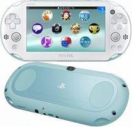 PlayStaiton Vita本体 Wi-Fiモデル ライトブルー・ホワイト[PCH-2000](箱・説明書無し) (箱説なし)