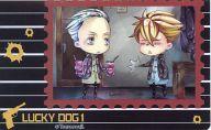 ジャン&イヴァン(SD/立ち) 「ラッキードッグ1 クリアステッカー」