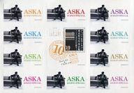 ASKA ステッカー 「ASKA 10 DAYS SPECIAL グッバイ&サンキュー 東京厚生年金会館 -ここにあなたの足跡を-」