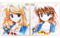 ジルコニア&紗彩 複製色紙セット(2枚セット) 「トラベリングスターズ」 C89グッズ