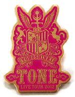 東方神起 ピンバッジ(2/18朱鷺メッセ) 「TOHOSHINKI 5th LIVE TOUR 2012 ~TONE~」 朱鷺メッセ限定 プレミアムシートグッズ