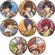 全8種セット 「新テニスの王子様 クロス缶バッジコレクション」