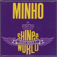 ミンホ バッジ 「JAPAN ARENA TOUR SHINee WORLD 2013~Boys Meet U~」