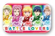 バトルラヴァーズ(ハート) 「美男高校地球防衛部LOVE!LOVE! まるかくカンバッジ」