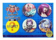 魔族 缶バッジセットvol.01(5個セット) 「対魔忍アサギ~決戦アリーナ~」 C91グッズ