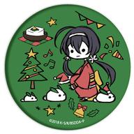泉鏡花 「文豪ストレイドッグス DEAD APPLE グラフアートデザイン クリスマスver. 缶バッジ」