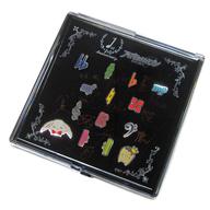 【中古】バッジ・ピンズ(キャラクター) 集合 1st Anniversary ピンズセット 「アイドリッシュセブン×HMM 1st Anniversary Shop」