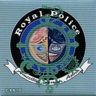 Royal Police 「B: The Beginning トレーディングスクエア缶バッジ」