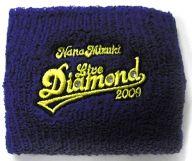 水樹奈々 リストバンド(ブルー) 「NANA MIZUKI LIVE DIAMOND 2009」