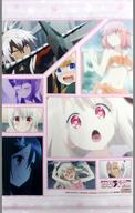 集合(背景ピンク) A3タペストリー 「Blu-ray/DVD Fate/kaleid liner プリズマ☆イリヤ ドライ!! 第3巻 限定版」 とらのあな購入特典