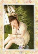 田村ゆかり ポートレートB(枠イエロー) 「田村ゆかり LOVE LIVE 2012 Autumn *Fall in Love*」 会場限定ガチャガチャ景品