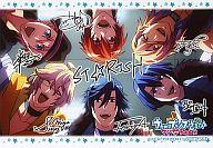 メンバー集合 ブロマイド 「うたの☆プリンスさまっ♪ マジLOVE1000%」 DVD第6巻 アニメイト購入特典