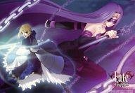セイバー&ライダー イラストカード 「コミックス Fate/stay night 第3巻 リミテッド」 とらのあな購入特典