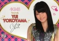 横山由依 ビジュアルシート(1211) AKB48 CAFE&SHOP限定