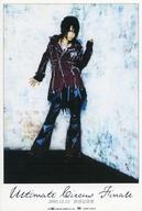 咲人(ナイトメア) ポストカード 「DVD Ultimate Circus Finale 03.12.12 渋谷公会堂」 封入特典
