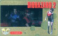 【単品】 レオン・S・ケネディ/クレア・レッドフィールド「BIOHAZARD 2」 ファミ通一族の陰謀 全プレ/ゴールド