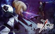 セイバー/ランサー「Fate Zero/武内崇」 電撃G'sマガジン2012年4月号誌上通販