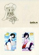 (2枚組) 小野原麻美「ルームメイト・麻美-おくさまは女子高生- [台紙付き]」 ゲーム発売記念
