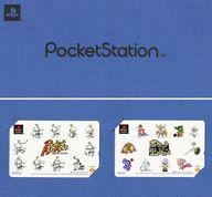 (2枚組) 計20名「ポケットムームー(Pocket MuuMuu)/ポケットダンジョン [台紙付き]」 PocketStation