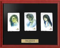(※テレカ表面焼け有り)(3枚組) ラグナ・レウァール/スコール・レオンハート/リノア・ハーティリー「FINAL FANTASY VIII(ファイナルファンタジーVIII) [額縁付き]」