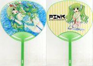 【オリジナル】うちわ(あらいぐま) C78/PINK