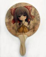 【東方Project】木製団扇 博麗霊夢(おしるこ) 東方神居祭/うみねこ亭