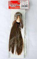 11cm用 植毛ヘッド ホワイティ ミディアムブラウン