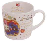 つぎはぎ林檎の白雪姫テーマ(ホワイト) マグカップ 「センチメンタルサーカス」