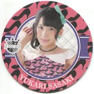佐々木優佳里 コースター(ハイヒール柄) AKB48 CAFE&SHOP メニュー注文特典