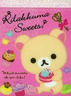 コリラックマ クロスメモ 「リラックマ」 Rilakkuma Sweetyシリーズ