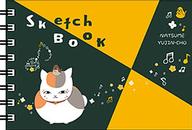 鳥とニャンコ先生 ミニ図案スケッチブック 「夏目友人帳」