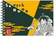モンキー・D・ルフィ 図案スケッチブック 「ワンピース」