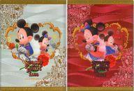 ミッキー&ミニー A4ダブルポケットクリアファイル 「東京ディズニーシー・シーズン・オブ・ハート2008」 東京ディズニーシー限定