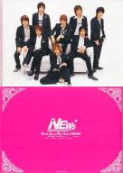 NEWS A4クリアファイル 「NIPPON EAST TO WEST SPRING CONCERT ~日本横断 大切なひとへ~」