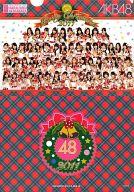 AKB48(2011年クリスマス) A4クリアファイル AKB48オフィシャルショップ原宿店&秋葉原店限定